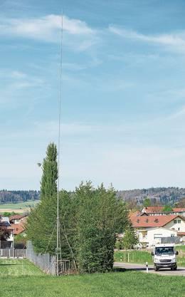 Schon der erste Standort der Mobilfunkantenne war den Freienwilern ein Dorn im Auge.
