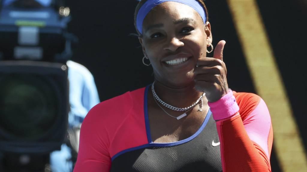 Serena Williams hat gut lachen - sie spielt im Moment wieder wie eine Nummer 1