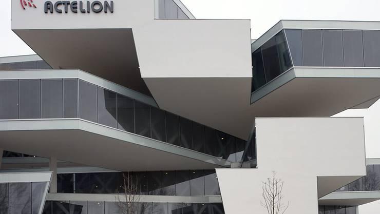 Sitz von Actelion in Allschwil: Nicht zum ersten Mal wird das Biotechunternehmen mit einer Übernahme in Verbindung gebracht.