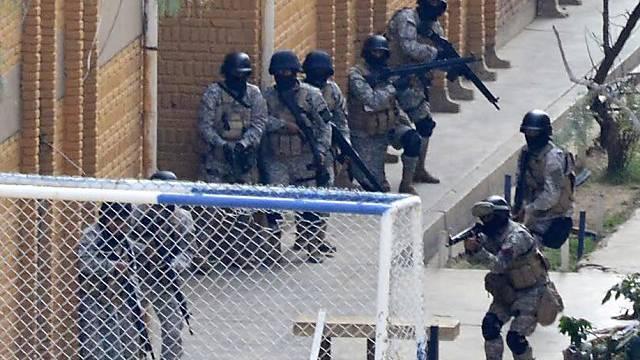 Einsatz nach Meuterei in einem bolivianischen Gefängnis (Archiv)