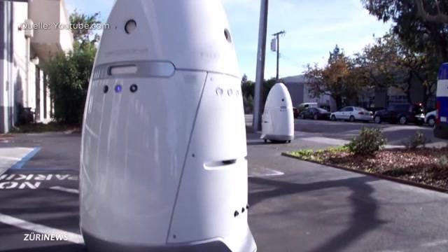 Verteilen Roboter bald Parkbussen?