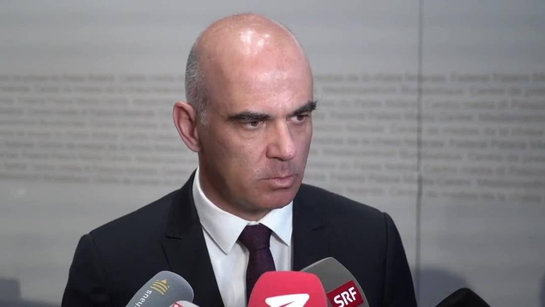 Genau bei «Grossanlässen würden wir die Übersicht über die Infektionskette verlieren»: Bundesrat Alain Berset im Interview