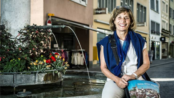 Silvia Hochstrasser kennt «ihre» Stadt Baden wie kaum jemand sonst – obwohl sie in Wettingen geboren wurde.