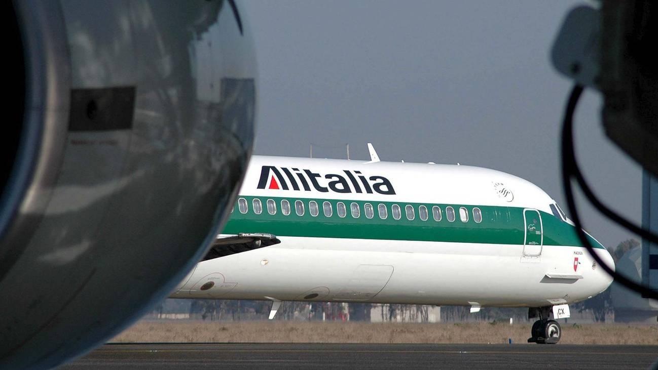 Dieses Bild ist an den italienischen Flughäfen bald Geschichte. Aus Alitalia wird ITA.