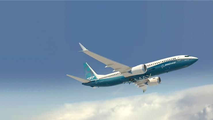 Bleibt in vielen Ländern am Boden: Der US-Konzern Boeing hat den neusten 737er-Typ schon 350-mal ausgeliefert – und 5000 weitere Maschinen wurden weltweit bestellt. KEYSTONEI