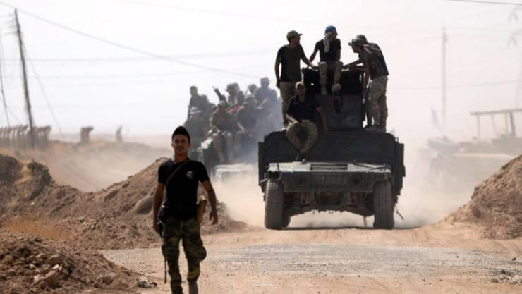 Irakische Truppen rücken in Richtung des Stadtzentrums von Tal Afar vor. (Archiv)