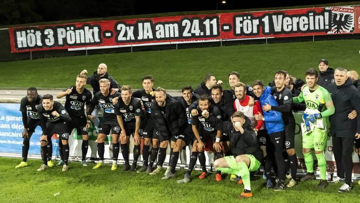 """""""Wir bitten Sie um Unterstützung für die FC-Aarau-Familie"""": Spieler, Trainer und Präsident mit offenem Brief ans Stimmvolk"""