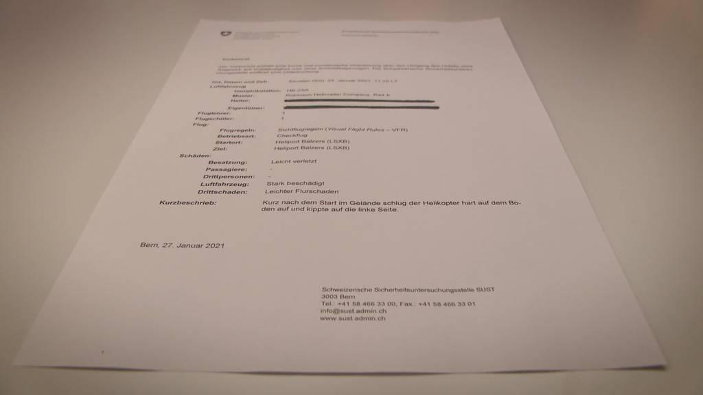 Kurznachrichten: Heliabsturz, JSVP TG, Spital AI, Bad Ragaz