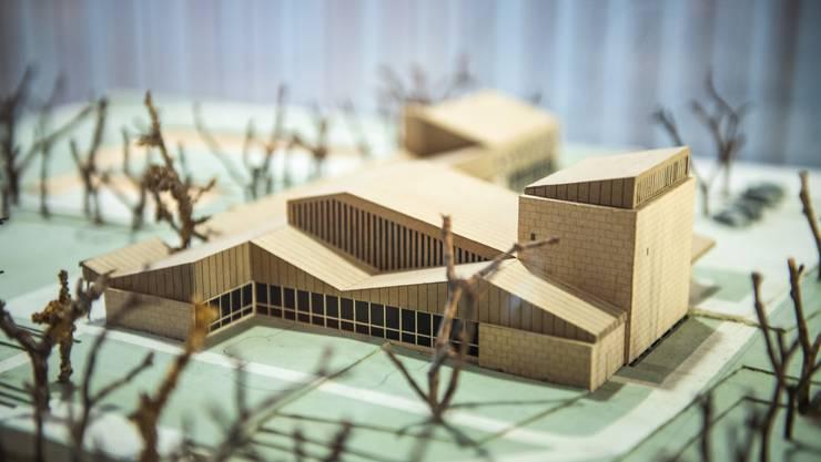 Originalmodell von Ernst Gisel für den Architekturwettbewerb 1949.