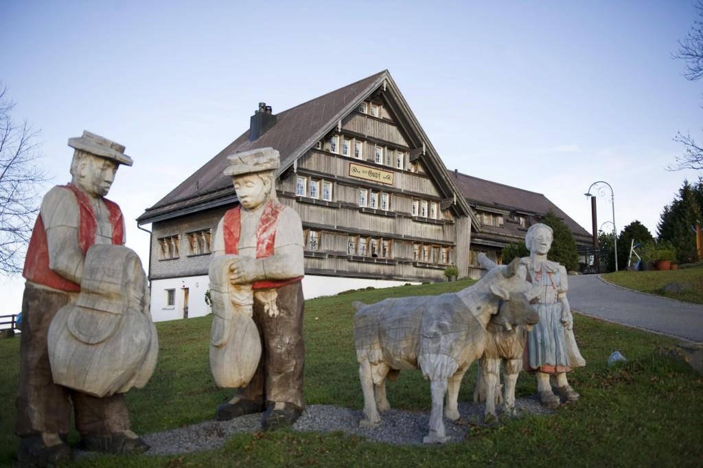 Zum Gupf in Rehetobel (© St.Galler Tagblatt Archiv)