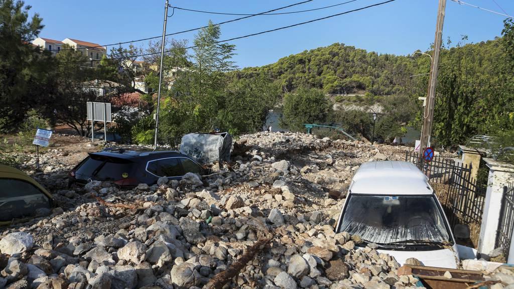 Sturm «Ianos» verursacht schwere Schäden in Griechenland