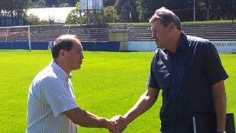 «Wir brauchen einen erfahrenen Sportchef»: Roger Geissberger, Vize-Präsident des FC Aarau, über den neuen Sportchef Raimondo Ponte.