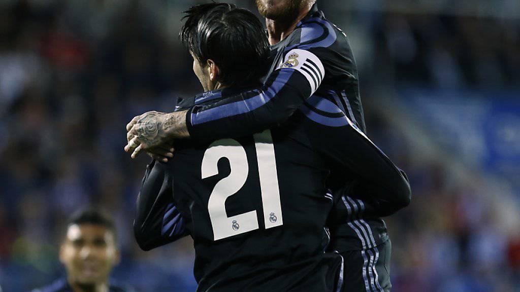 Dreifacher Torschütze für Real Madrid: Alvaro Morata