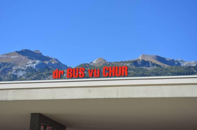 Zwischenstopp in Chur.