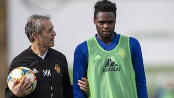 Marcel Koller und Dimitri Oberlin werden wohl nie mehr gemeinsam beim FCB sein.