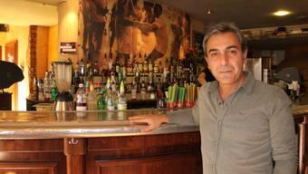 Mehmet Polat ist nur noch bis Ende Jahr Wirt im «Baracoa». Dann gibt er das Lokal an Duran Odan weiter.