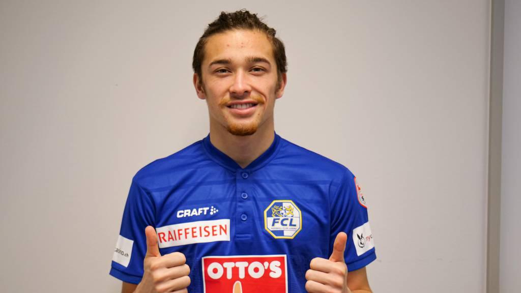 Jordy Wehrmann bleibt definitiv beim FC Luzern