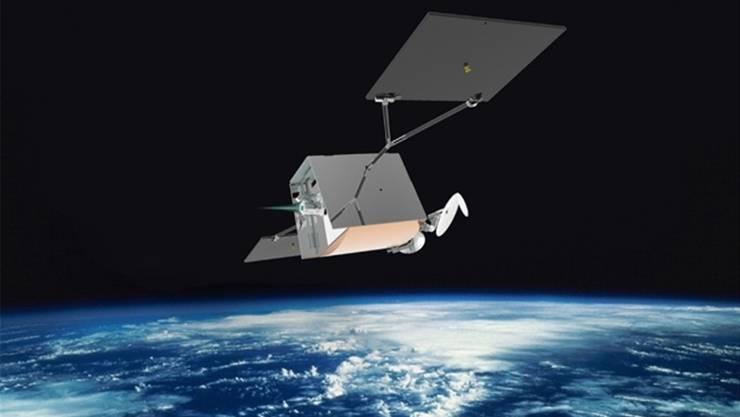 Ein «Oneweb»-Satellit. In solche Satelliten werden die GreDom-Insert, spezielle Gewindeeinsätze montiert.