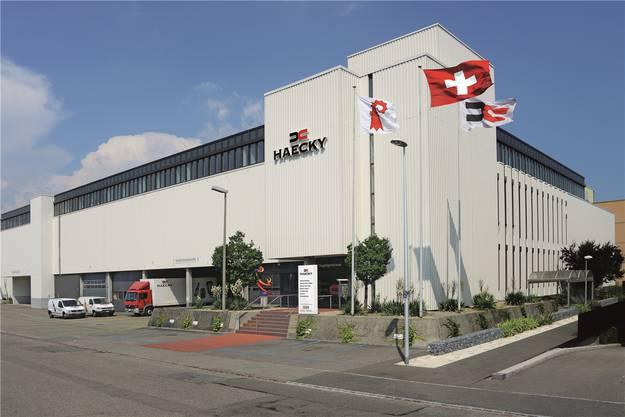 Der heutige Haecky-Hauptsitz im Reinacher Kägen.