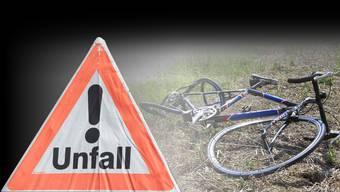 Der Fahrradfahrer wurde bei der Kollision am Samstag schwer verletzt.