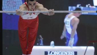 Oliver Hegi turnte hervorragend und steht im Mehrkampffinal.