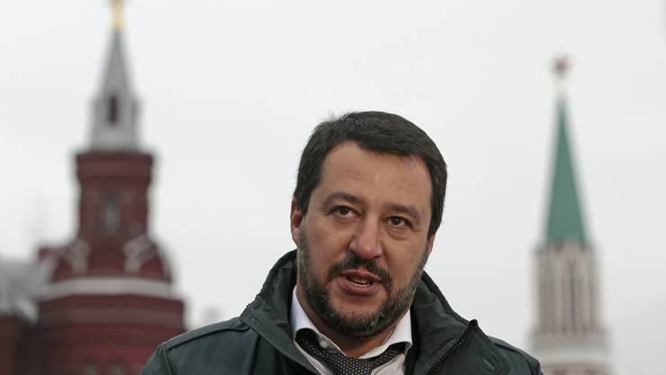Matteo Salvini kommt unter Druck. Hat er Geld aus Russland angenommen?