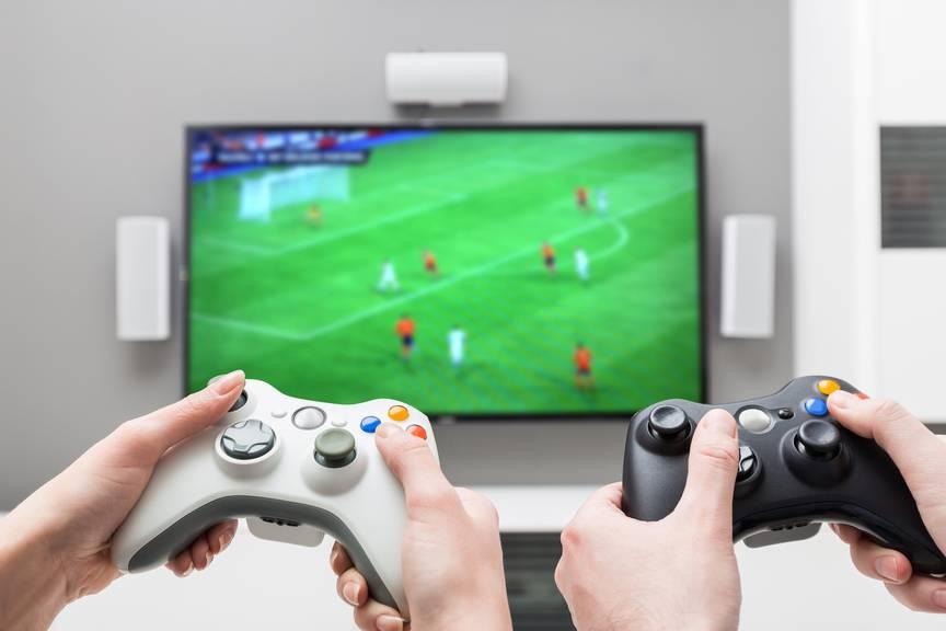 In der Hauptpost findet ein Fifa-Turnier statt. (Symbolbild: iStock)