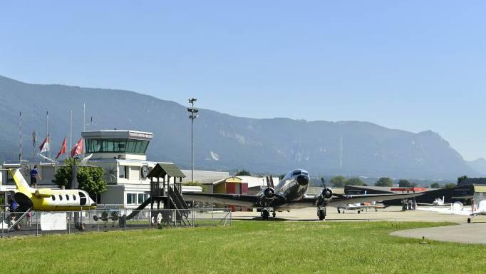 Werden auch in ein paar Jahren noch Fluglotsen den Flugbetrieb auf dem Flughafen Grenchen leiten? Oder wird man sich das schlicht nicht mehr leisten können?
