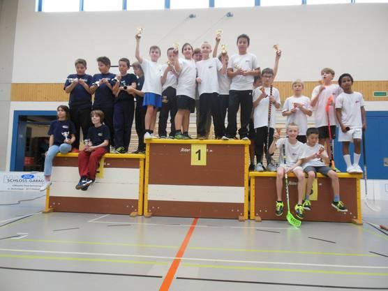 2. Platz Jugi Erlinsbach U13