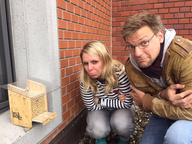 Nicht nur unsere Bienli haben zu kalt
