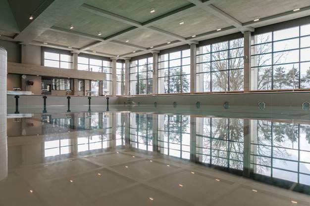 Ende März wird das Wettinger Hallenbad wiedereröffnet.