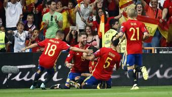 WM-Qualifikationsspiel zwischen Spanien und Italien am 2.September 2017