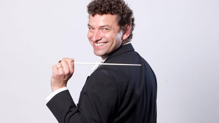 Kaspar Zehnder, Chefdirigent des Sinfonie Orchesters Biel Solothurn.