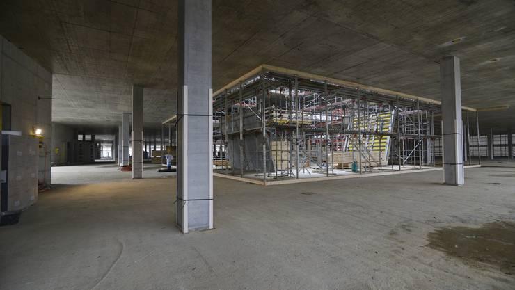 Für Kunst am Bau im neuen Bürgersoital sind total 800'000 Franken vorgesehen. (Archiv)