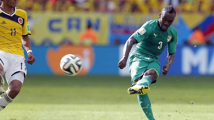Der Ivorer Arthur Boka (rechts) spielt die kommende Saison für Sion