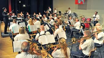 Die Musikgesellschaft Oensingen spielt im Bienkensaal zum Frühlingskonzert auf.