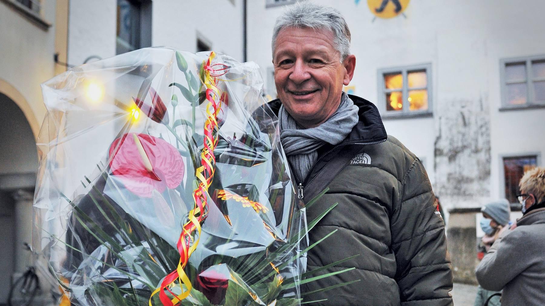Hans Mäder (CVP) wird neuer Stadtpräsident in Wil