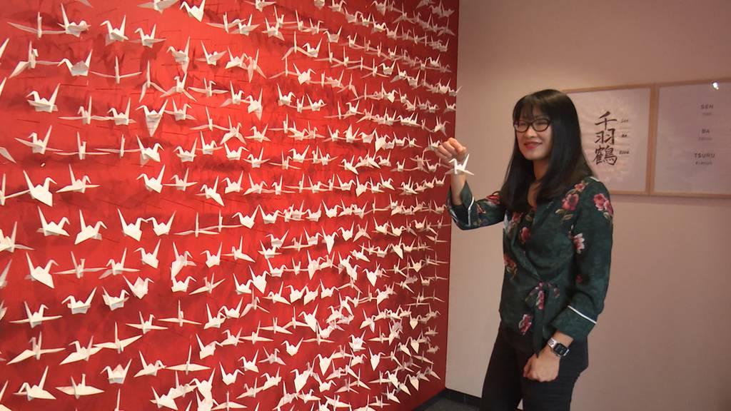 Origami: 1000 Kraniche für einen Wunsch