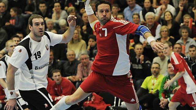 Ivan Ursic beim Torschuss