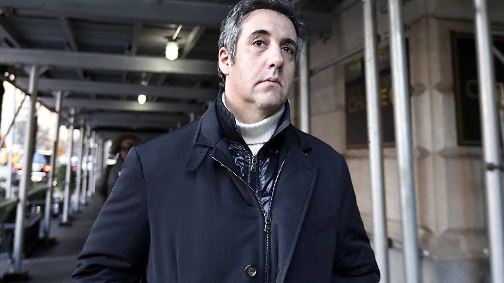 Verfügt über viel Insiderwissen: Donald Trumps früherer Anwalt Michael Cohen. (Archivbild)