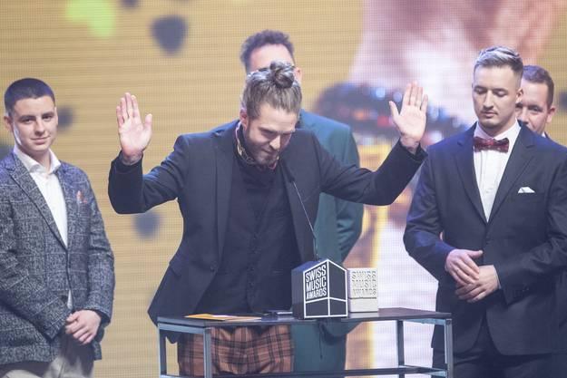 Lo & Leduc erhielten den Award als «Best Group», welchen Lo entgegennahm. Leduc konnte nicht dabei sein — er verweilte in den Ferien.