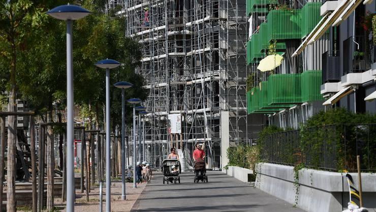 Das neuentstehende Quartier Erlenmatt ist vielseitig. Die Bewohnerinnen und Bewohner leben in sehr unterschiedlichen Wohnformen.