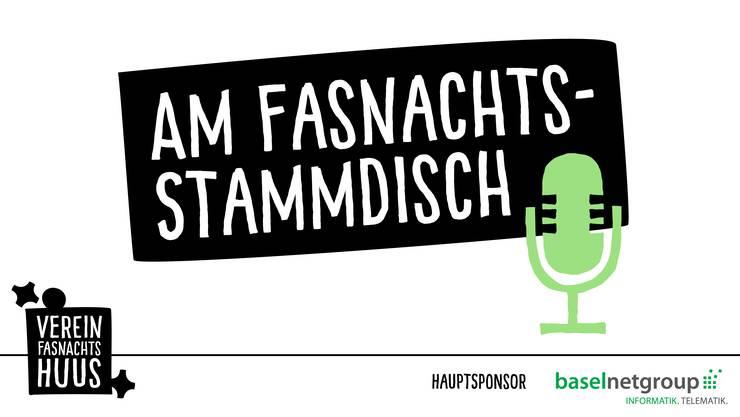 Ab dem 28. Mai kommt wöchentlich eine neue Folge des neuen Podcasts «Am Fasnachts-Stammdisch» vom Verein Fasnachtshuus.