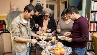 Geht es nach dem Sparprogramm, sollen junge Flüchtlinge nicht mehr von Familien in der Schweiz aufgenommen werden.