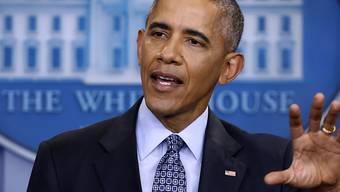 Der ehemalige US-Präsident Barack Obama will offenbar bei Netflix auftreten. (Archivbild)