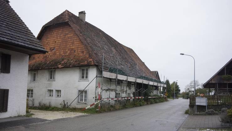 Das Gebäude an der Bettlachstrasse 5 soll abgerissen werden. Selzachs Gemeinderat will nun eine Planungszone errichten.