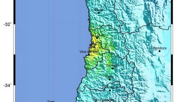 Keine Tsunami-Gefahr: Erdbeben in Küstennähe in Chile