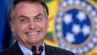 Der brasilianische Präsident, Jair Bolsonaro, zieht Botschaftspersonal aus Venezuela ab. (Archivbild)