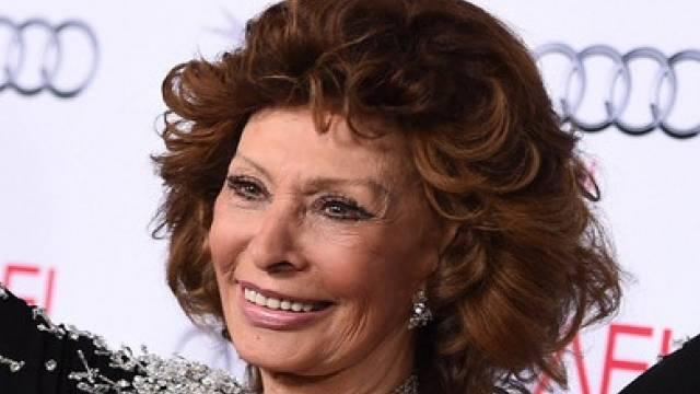 Bekämpft Ärger mit Pasta: Sophia Loren (Archiv)