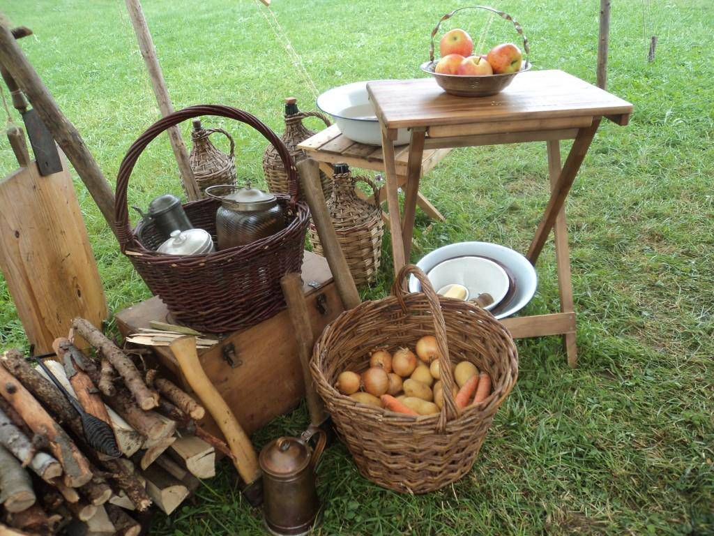Impressionen American Living History Camp